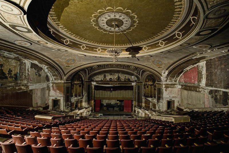 Abandoned theater Connecticut