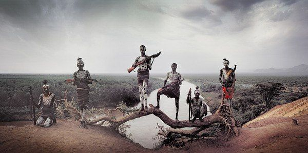 Ethiopia Karo tribe photo