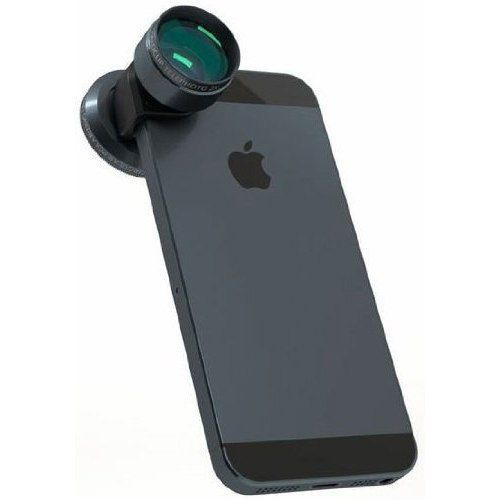 Olloclip telephoto and circular polarizer
