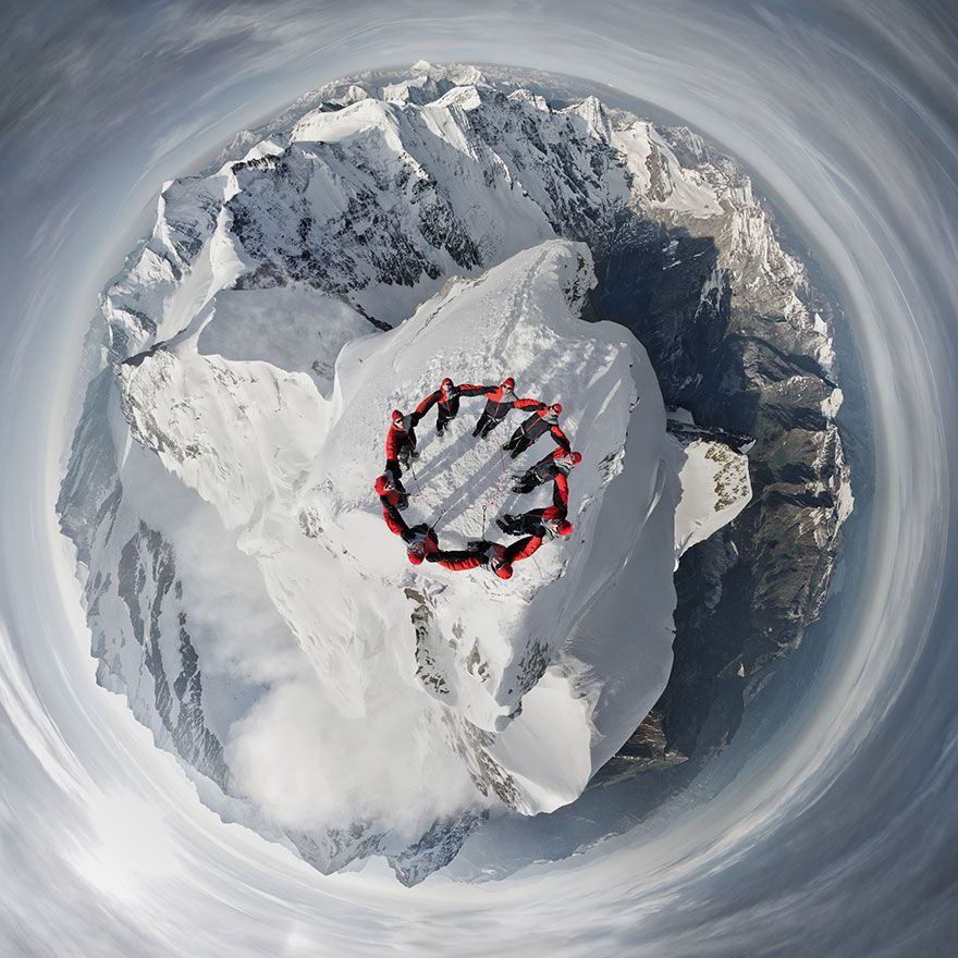 Robert Bösch polar panorama mountain photography