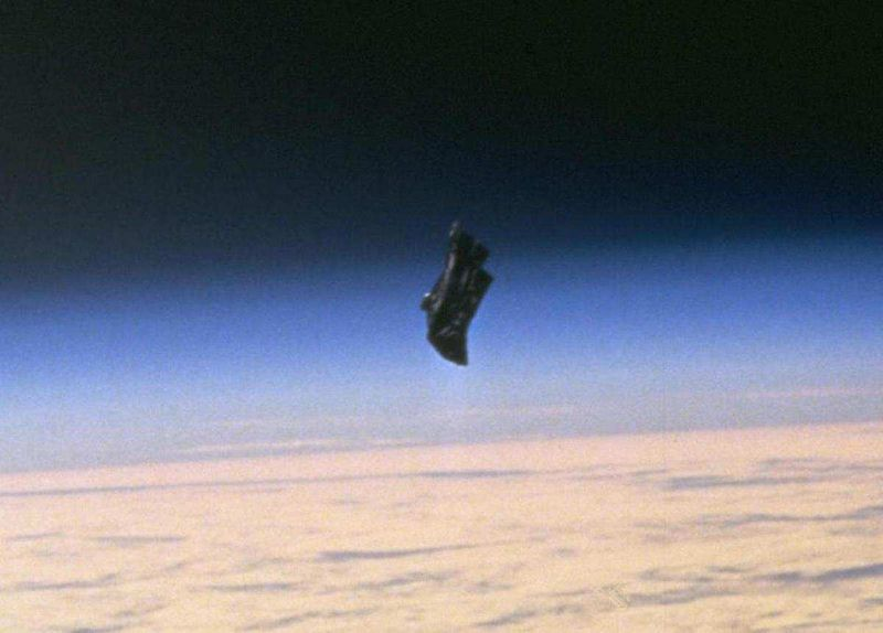 Black Knight satellite mysterious photos