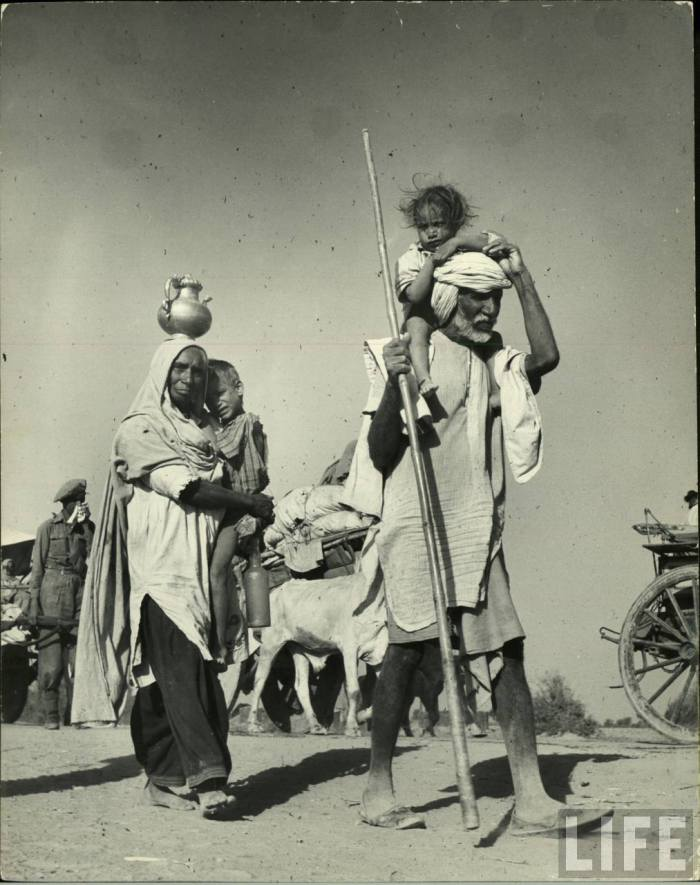 Old migrants India Pakistan 1947