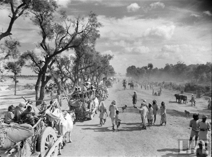 Partition of India 1947 rare photos