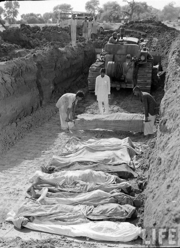 Partition of India dead 1947