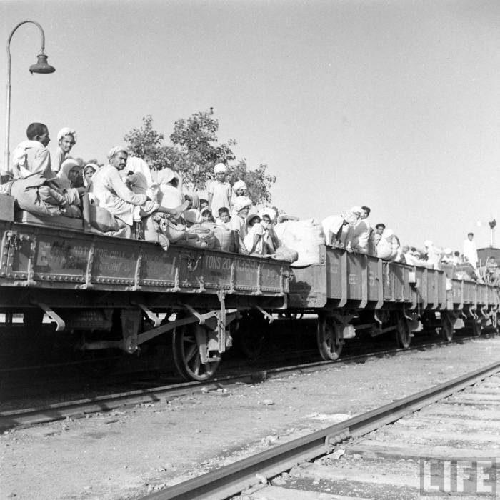 India partition train 1947