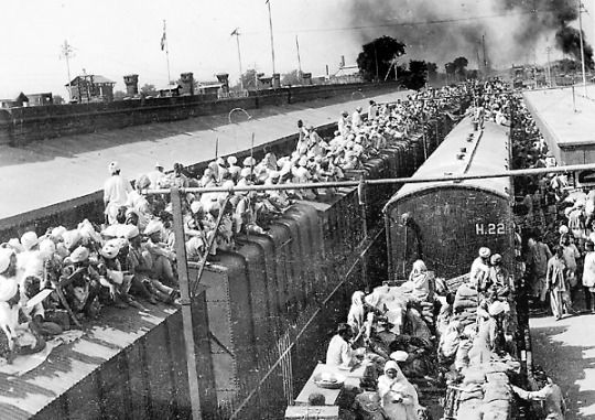 Partition of India trains
