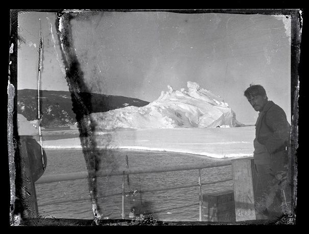 Chief Scientist and Geologist, Alexander Stevens, on the deck of the Aurora
