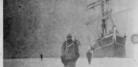 100 year old frozen negatives from Antarctica