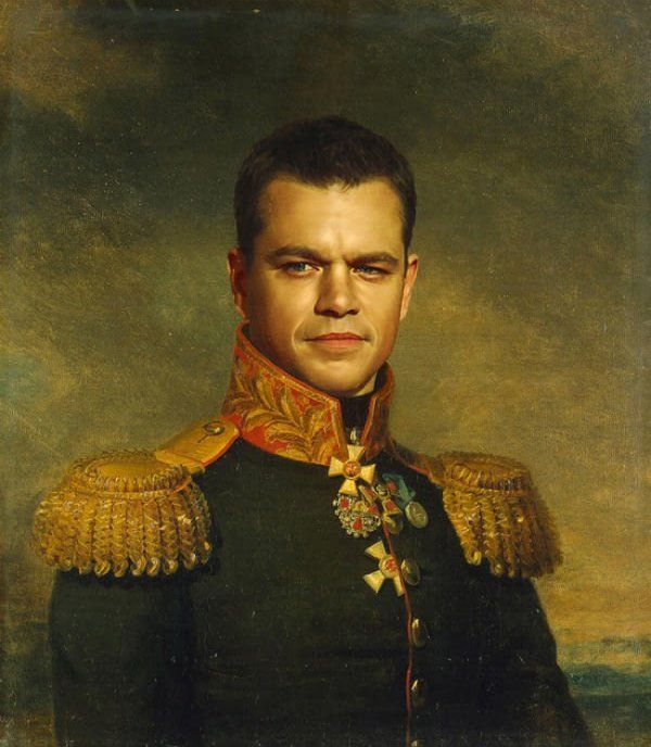 General Matt Damon