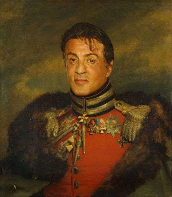 Generals Sylvester Stallone