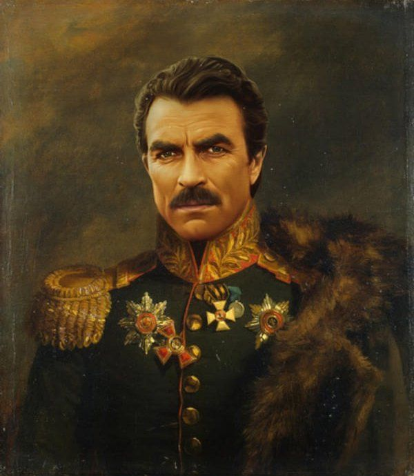 General Tom Selleck Magnum